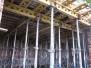 Hůrka - strop garáže