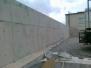 Olší - opěrná stěna