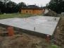 Sudoměřice - RD základové konstrukce
